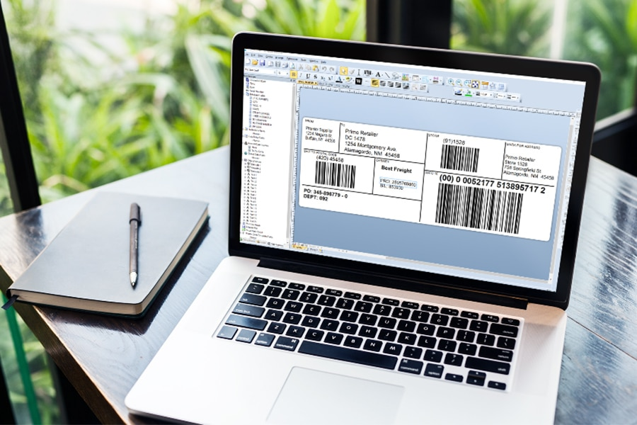 Product Label Printing Software